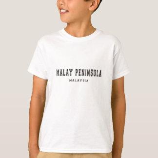Península de Malay Malasia Polera