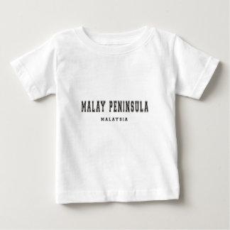 Península de Malay Malasia Remera