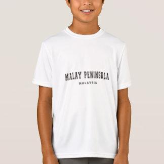 Península de Malay Malasia Remeras