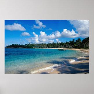 Península de Samana del La, República Dominicana,  Póster