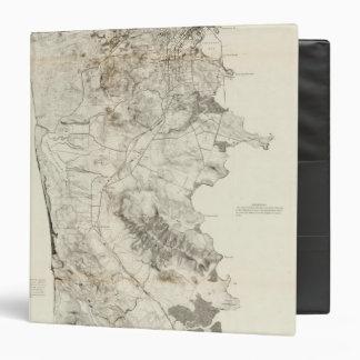 """Península de San Francisco Carpeta 1 1/2"""""""