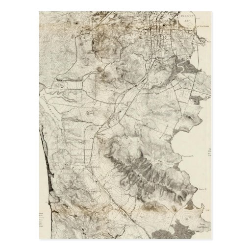 Península de San Francisco Tarjetas Postales