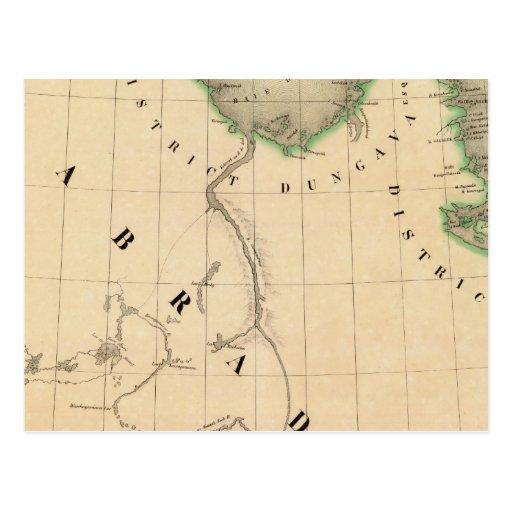 Península de Ungava y Labrador septentrional Tarjeta Postal