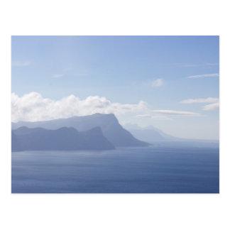 Península del cabo, Suráfrica, postal