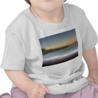Península del lago camisetas
