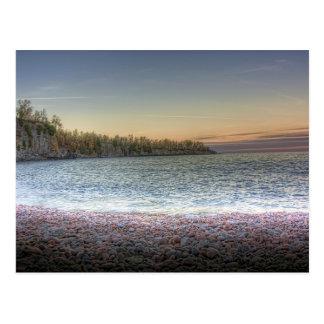 Península del lago tarjetas postales