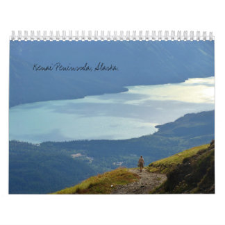 Península escénica de Kenai, calendario de Alaska