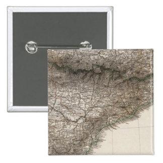 Península española 2 pin cuadrado