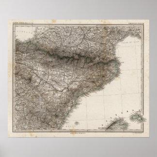 Península española 2 póster