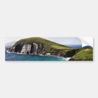 Península Irlanda de la cañada Etiqueta De Parachoque