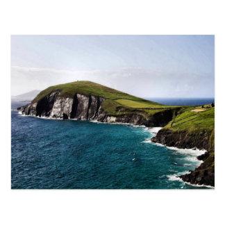 Península Irlanda de la cañada Postales