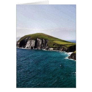 Península Irlanda de la cañada Tarjeta