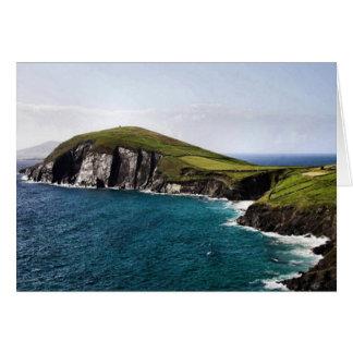 Península Irlanda de la cañada Tarjeta De Felicitación