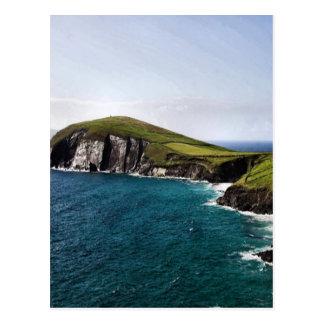 Península Irlanda de la cañada Tarjeta Postal
