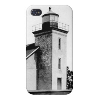 Peninsula Point Lighthouse Case For iPhone 4