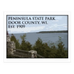 Peninsula State Park Post Cards