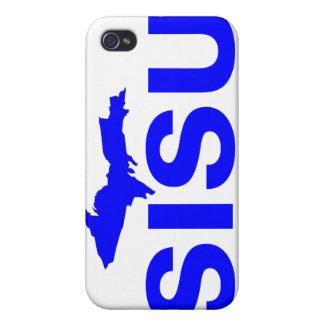 península superior Michigan del diseño SISU del ca iPhone 4/4S Carcasa