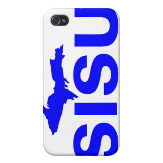 península superior Michigan del diseño SISU del iPhone 4/4S Carcasa
