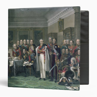 Peninsular Heroes at the United Services Club 3 Ring Binder