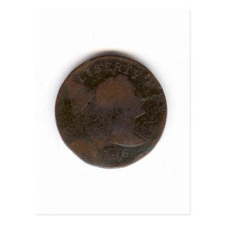 PENIQUE 1796 POSTAL