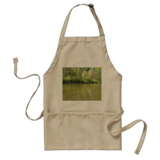Penique del lago delantal