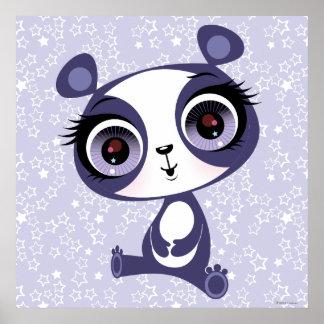 Penique la panda dulce póster
