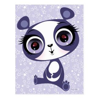 Penique la panda dulce tarjeta postal
