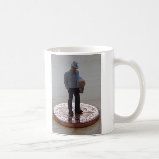 Penique para sus pensamientos tazas de café