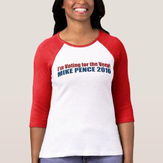 Peniques de Mike que votan por la camiseta de Veep Poleras