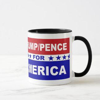 Peniques del triunfo para blanco de América y azul