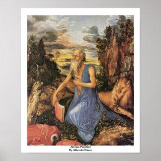 Penitent de Jerome de Albrecht Dürer Impresiones