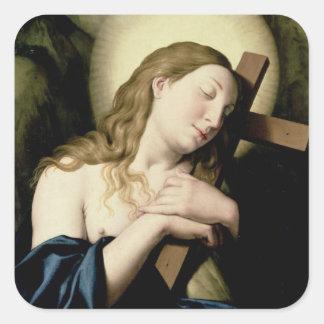 Penitent Magdalene Square Sticker
