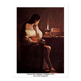 Penitent Maria Magdalena (Magdalena Terf) Tarjetas Postales