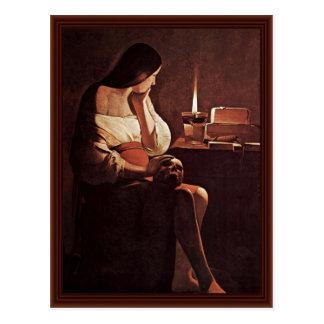 Penitent Maria Magdalena (Magdalena Terf) Postales