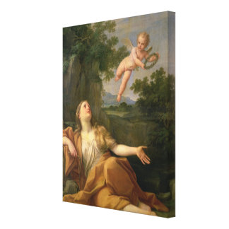 Penitent Mary Magdalene, 1700-05 2 Canvas Print