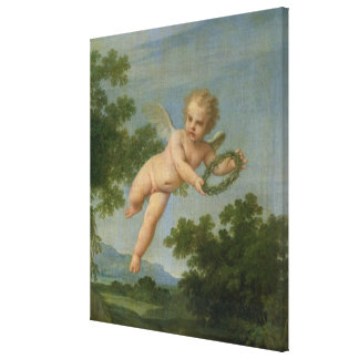 Penitent Mary Magdalene, 1700-05 Canvas Print