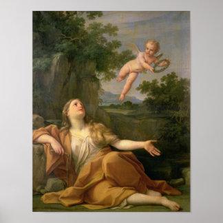 Penitent Mary Magdalene, 1700-05 Poster