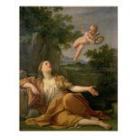 Penitent Mary Magdalene, 1700-05 Print