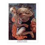 Penitent St. Jerome By Jacopo Pontormo Post Cards