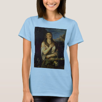 Penitent St. Mary Magdalene By Tizian T-Shirt