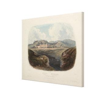 Penitentiary near Pittsburgh: Karl Bodmer Print