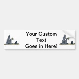 Penjing bonsai graphic image design 1 car bumper sticker