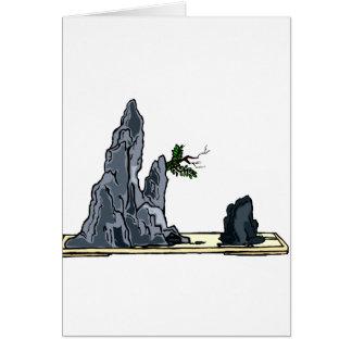 Penjing bonsai graphic image design 1 card