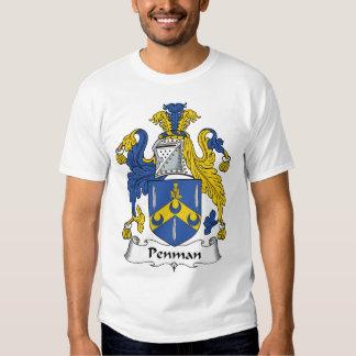 Penman Family Crest T-shirt