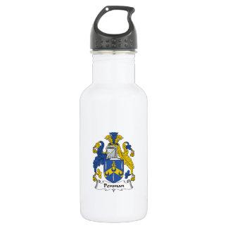 Penman Family Crest Water Bottle