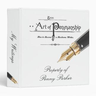Penmanhip Binder With Fountain Pen
