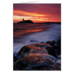 Penmon Lighthouse Anglesey Wales Greeting Card