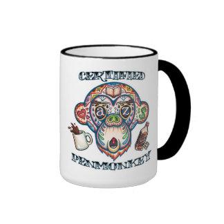 PENMONKEY CERTIFICADO -- Taza de café
