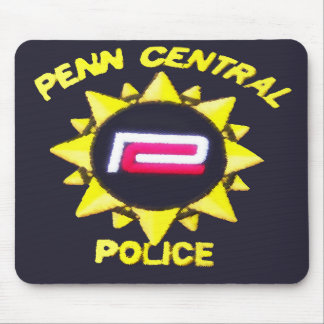 Penn Central Railroad Police Mouse Pad