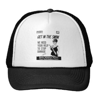 Penn Central Railroaders Care about Damage Hat
